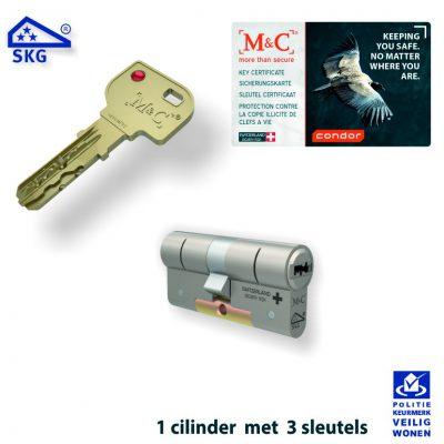 M&C Condor Veiligheidscilinder