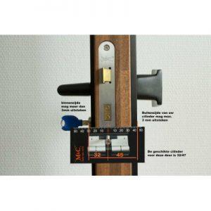 EVVA 3KS Anti Kerntrek Veiligheids certificaat cilinder