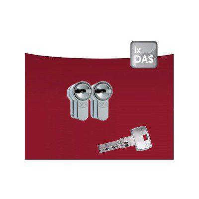 2x DOM IX DAS Certificaat Veiligheidscilinder