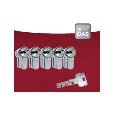 5x DOM IX DAS Certificaat Veiligheidscilinder