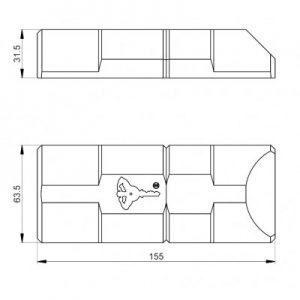 MUL-T-LOCK ArmaDLock schuifdeur