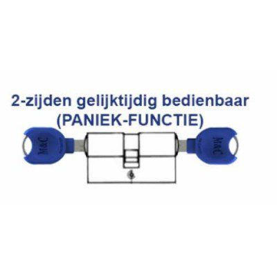 5x M&C Pro Anti Kerntrek Veiligheids certificaat cilinder SKG***