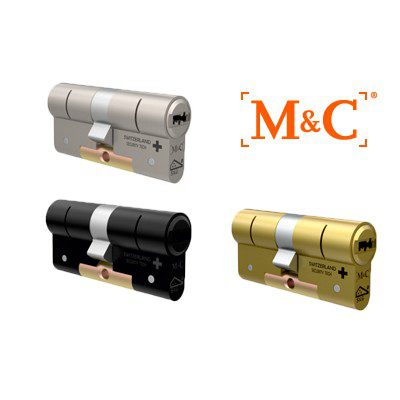 1x M&C Condor Anti Kerntrek Veiligheids certificaat cilinder SKG***