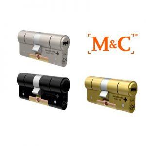 3x M&C Matrix Anti Kerntrek Veiligheids certificaat cilinder SKG***