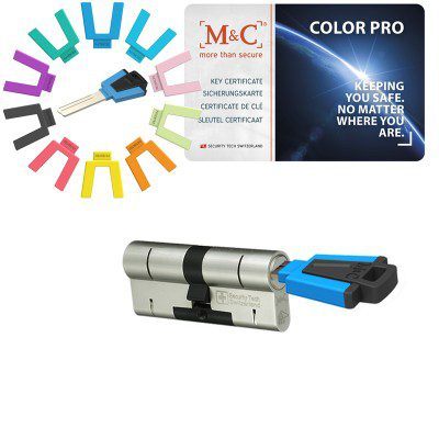 M&C Color pro8 sleutel