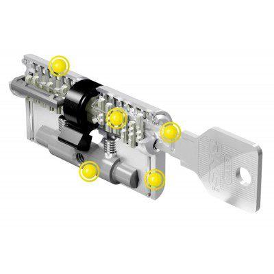 1x EVVA 3KS Anti Kerntrek Veiligheids certificaat cilinder